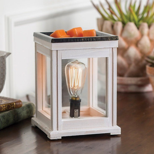 Weathered Wood Wax Melt Warmer & Candle Warmer