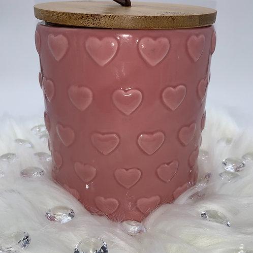 """20oz """"Rose (Rosay) Kind of Day"""" Jar Candle"""