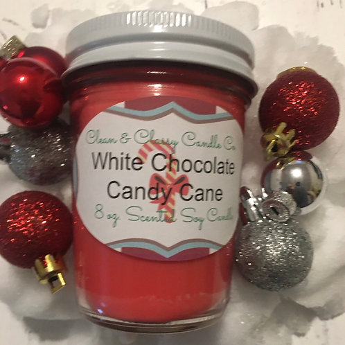 White Chocolate Candy Cane