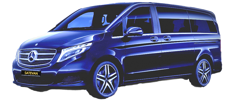 SATEVAN MERCEDES CLASSE V GUADELOUPE TRANSPORT VIP CHAUFFEUR SERVICE