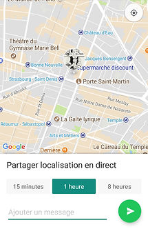 chauffeur privé guadeloupe uber geolocalisation whatsapp