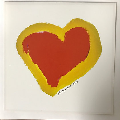 Mindy S. - Mindy's Heart (Note Card)