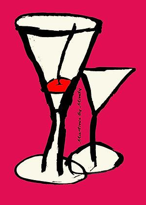 Mindy S. - Martinis (Pink)