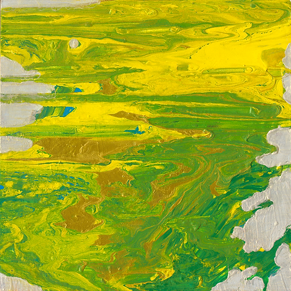 Cathy - Abstract (Green)