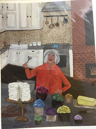 Mindy S. - Paula Deen (Print)