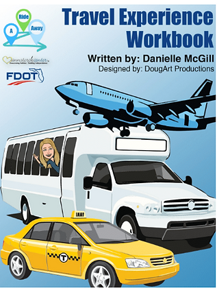 Travel Experience Workbook from A Ride Away