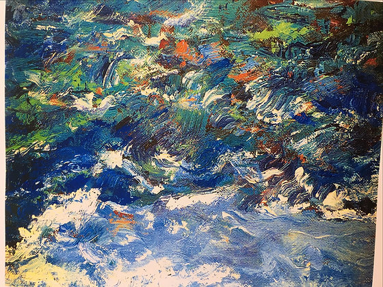 Aaron G. - Turbulent Waters (Print)