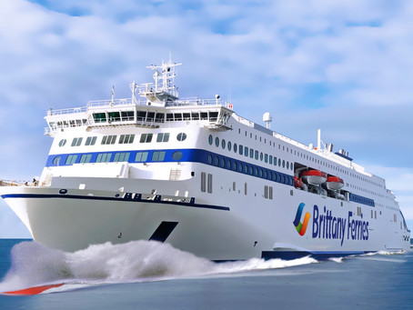 Two new hybrid ships for Brittany Ferries