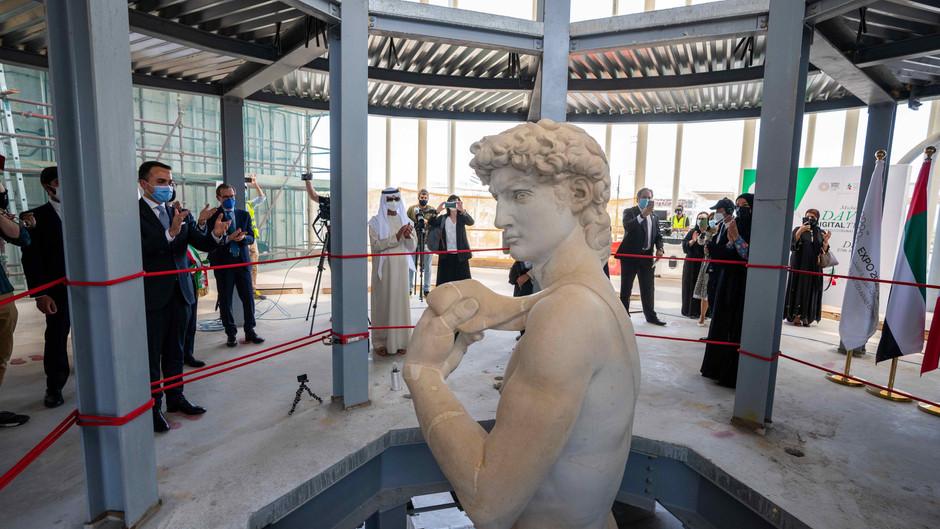 3 D   Michelangelo's David