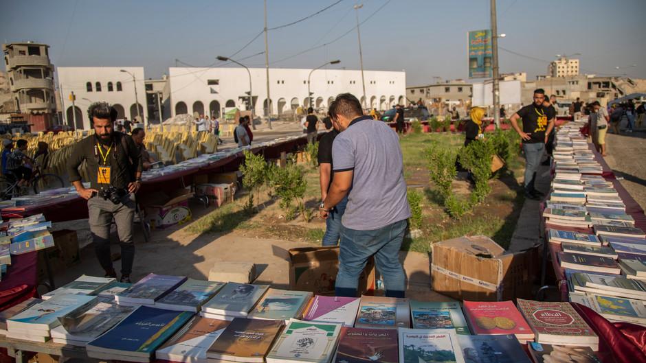 Cultural festival in Mosul
