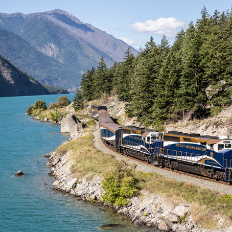 Rocky Mountaineer features in prime time series