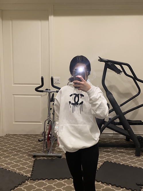 Chanel Inspired Drip Sweatshirt