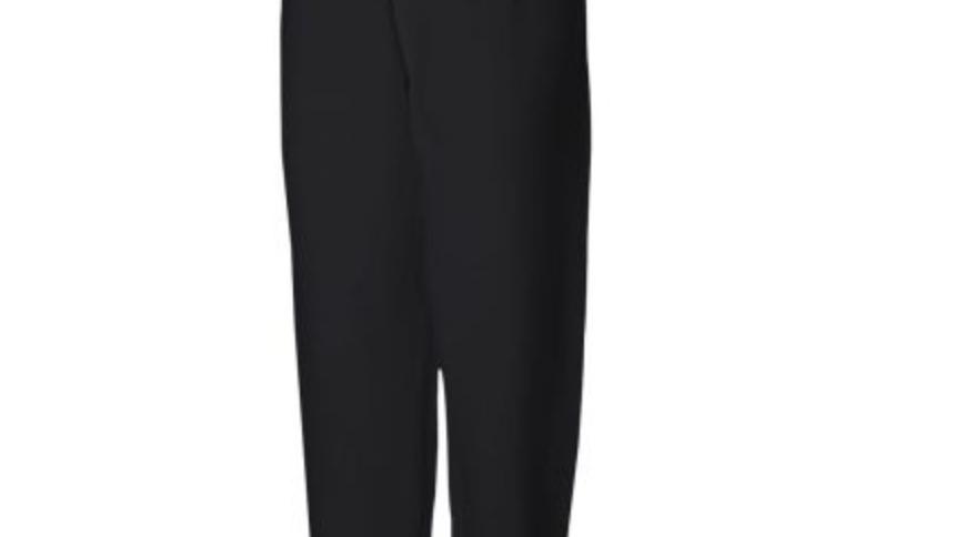 Customizable Black Butterfly Sweatpants