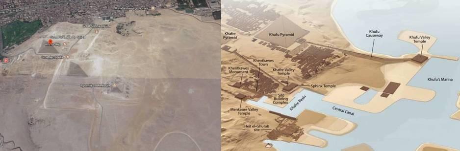 piràmides y canales increìbles del riò Nilo
