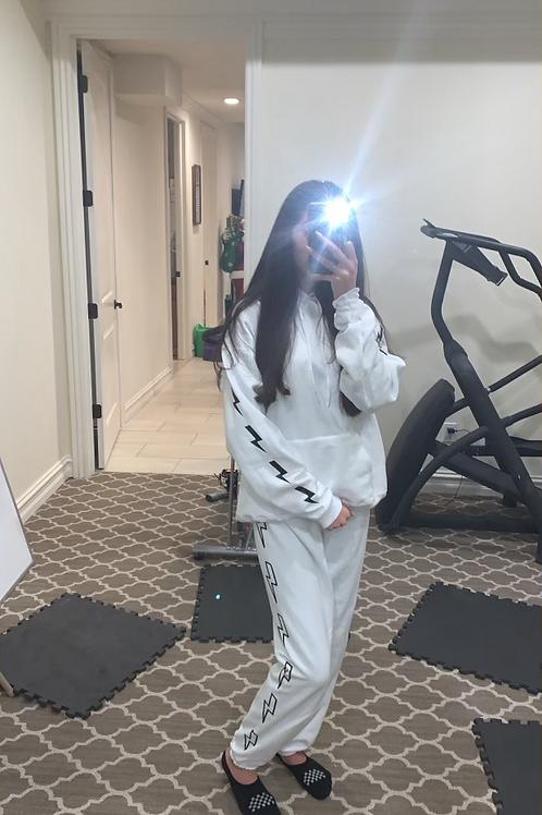 Lightning  Sweatshirt Set