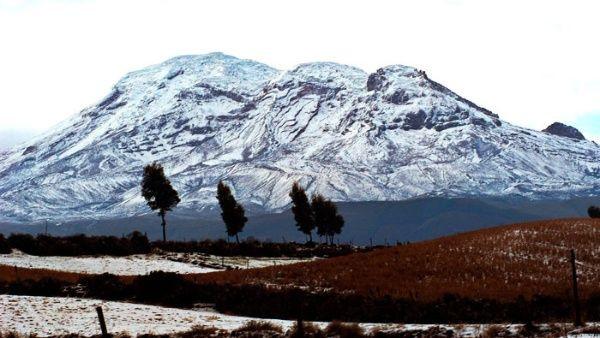 El increìble volcàn Chimborazo