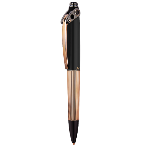 HYSEK - Abyss - Black Soft Touch & Rose Gold Finishing