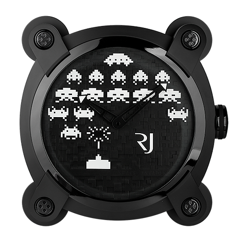 Romain Jerome - Space Invaders Wall Clock