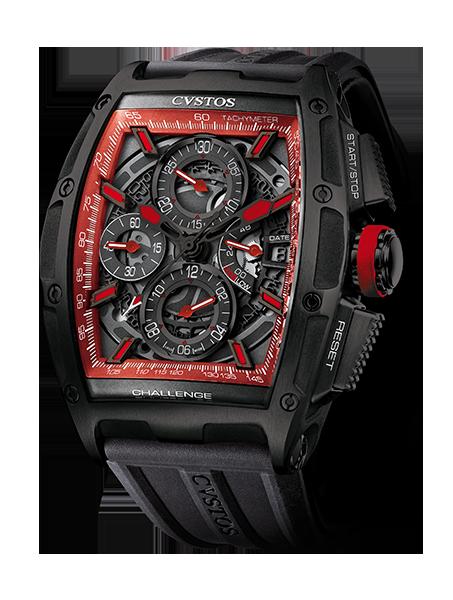 CVSTOS - Chronograph - Challenge Chrono II Color Storm Red