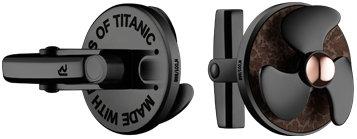 Romain Jerome - Titanic Cufflinks Rusted Steel & Black Steel
