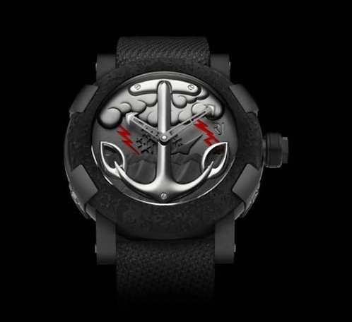 Romain Jerome - Tattoo Black Red