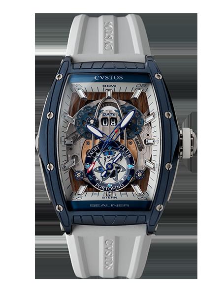 CVSTOS - Hour Minute Second - Challenge Sealiner GMT Portofino Blue