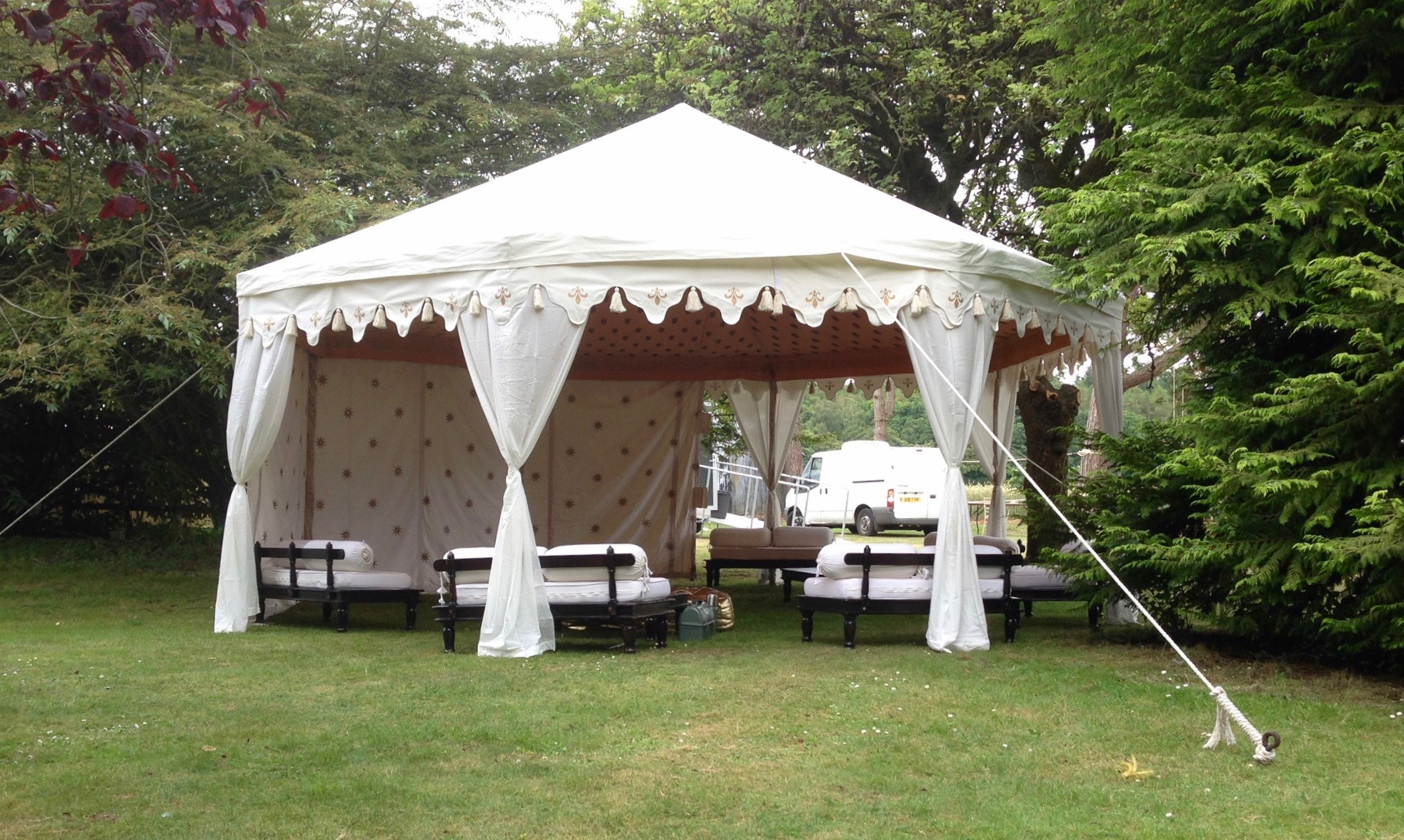 6m White Pavilion Marquee