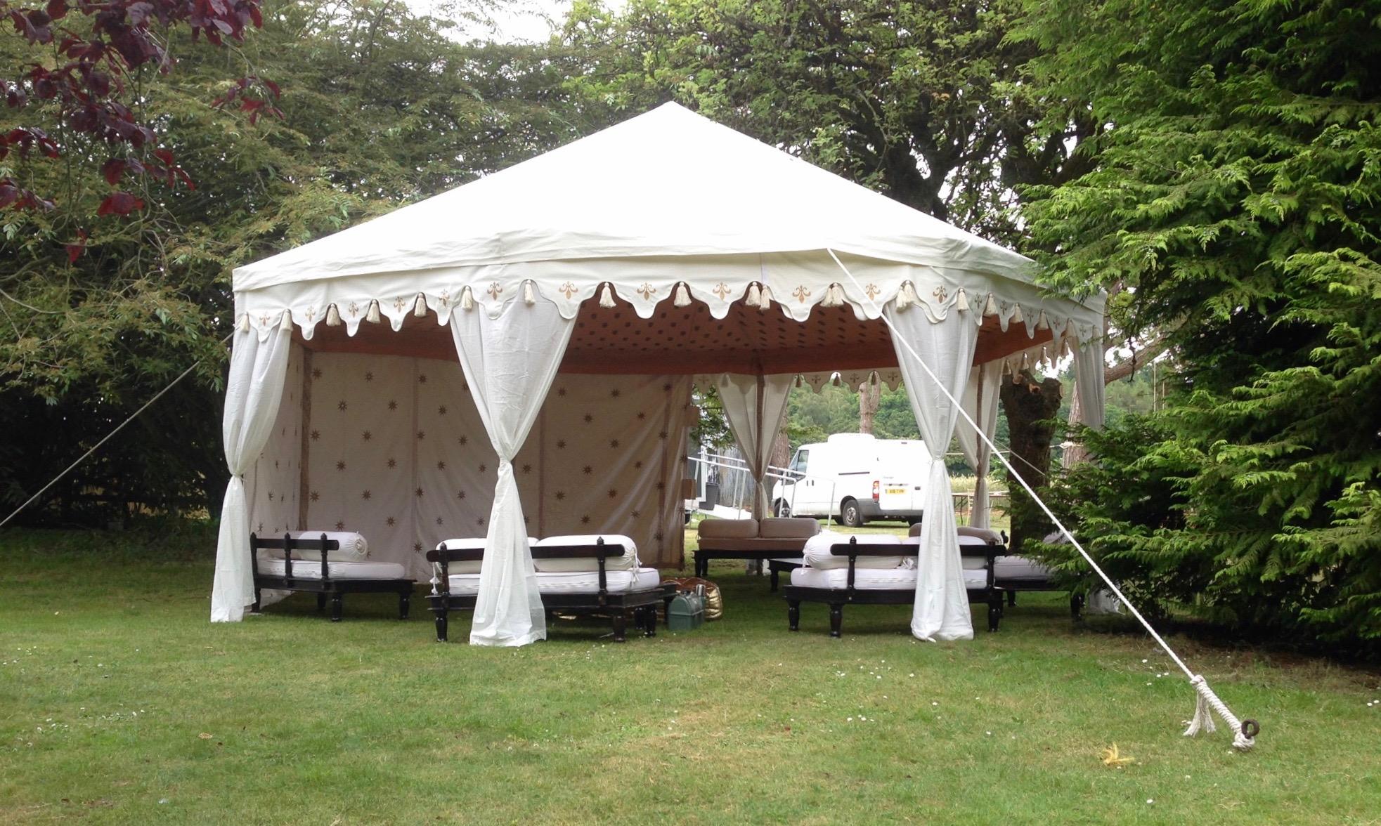 6m White Pavilion Marquee