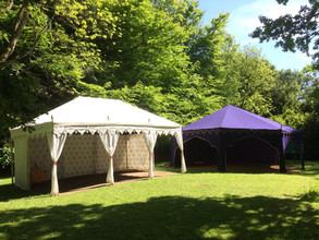 Stunning Marquees in Beautiful Settings