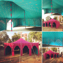 Pink Maharaja Tent