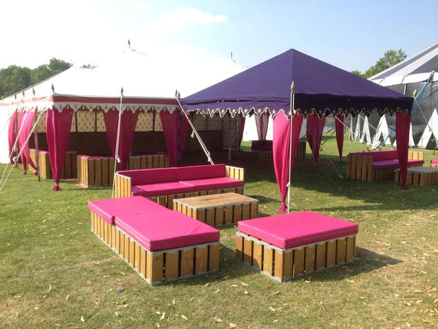 Vibrant Party Tents