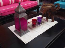 Decorative candle holder and lantern