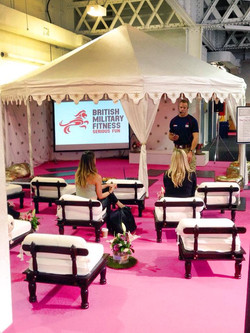 6m Pavilion Marquee at trade show