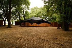 Black Stretch Tent