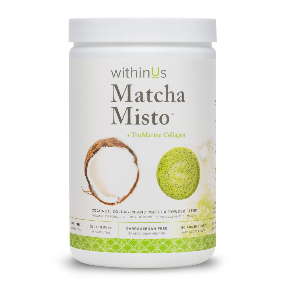 withinUs Matcha Misto, TruMarine Collagen