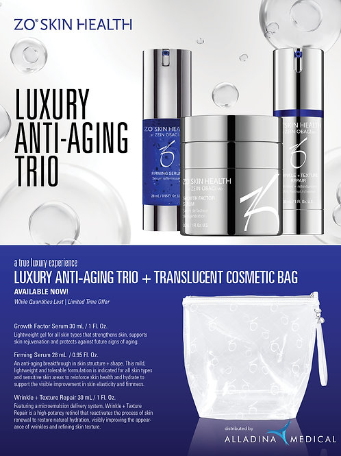 LUXURY ANTI-AGING TRIO KIT