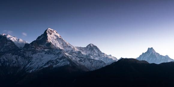 Annapurna Himal (before Sunrise)