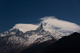 Annapurna South (Night Sky)