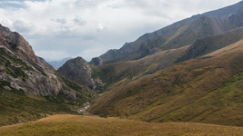 somewhere in Kyrgyzstan...