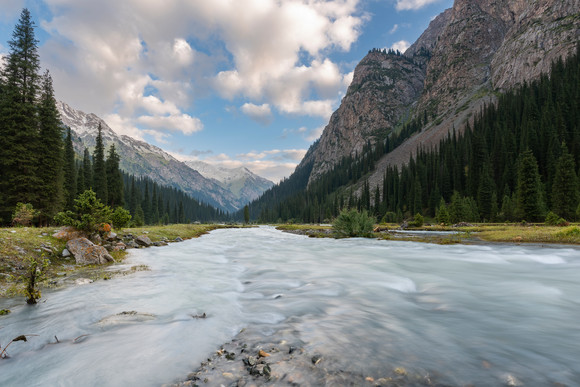 Karakol River.