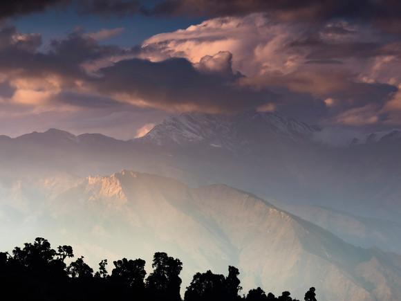 Covered Dhaulagiri (8.167m)