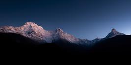 Annapurna South, Hiunchuli & Machapucharé