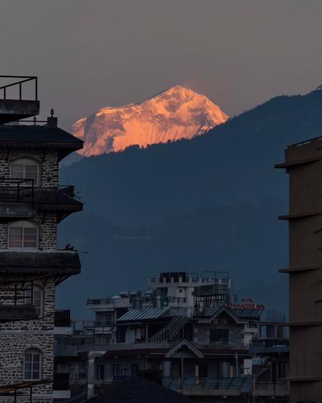 Dhaulagiri & Pokhara City