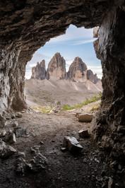 Tre Cime di Lavaredo (Cave View)