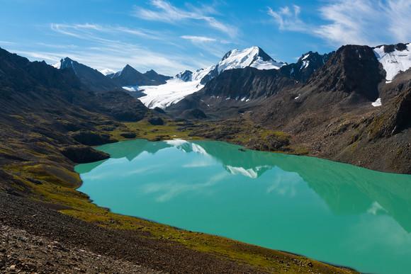 Lake Ala-Kul & Glacier