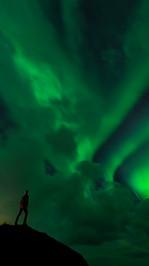 Wachting Aurora Borealis in Senja
