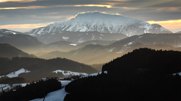 Ötscher (Winter Sunrise)