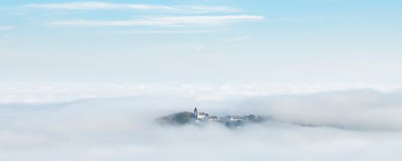 St. Veit in a Sea of Fog