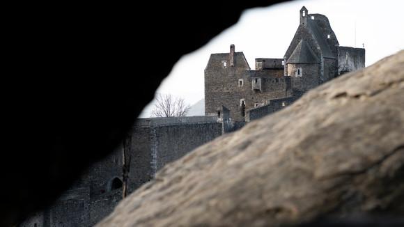Ruin Aggstein (Rock View)