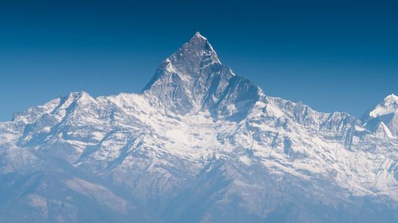 Machapucharé (seen from Pokhara)